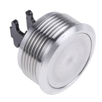 ITW 76-95 Single Pole Double Throw (SPDT) Momentary Clear LED Push Button Switch, IP67, 32 (Dia.)mm, Panel Mount, 250V