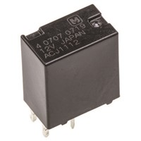 Panasonic PCB Mount Automotive Relay - SPDT, 12V dc Coil