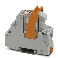 Phoenix Contact, 24V ac 4PDT Power Relay Module, Screw Terminal , DIN Rail