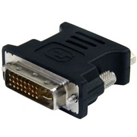 Black DVI to VGA Cable Adapter - M/F
