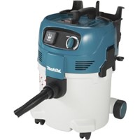 Makita VC3012M Floor Vacuum Cleaner Vacuum Cleaner for Dust Extraction, 7.5m Cable, 110V, UK