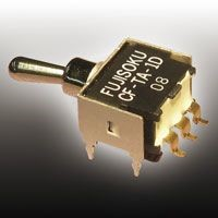 New Copal Electronics SPDT Toggle Switch, (On)-Off-(On), PCB
