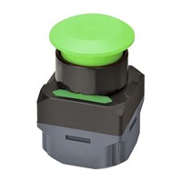 New Omron, A2W Green Mushroom Push Button Complete Unit Transmitter Wireless