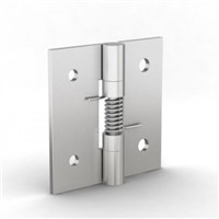New Pinet Zinc Plated Steel Spring Hinge, 50mm x 50mm x 2mm