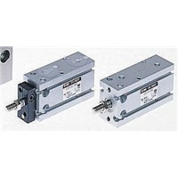 SMC Pneumatic Multi-Mount Cylinder CUK Series, Double Action, Single Rod, 16mm Bore, 30mm stroke