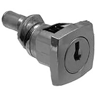 Euro-Locks a Lowe & Fletcher group Company Panel to Tongue Depth 23.5mm Chrome Plated Multi Drawer Lock, Key to unlock