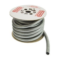 Adaptaflex S Galvanised Steel Flexible Conduit Metal 25mm x 10m