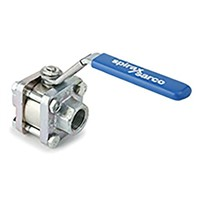 Spirax Sarco Stainless Steel 3 Way Ball Valve 3/4 in BSPP 2 Way