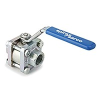Spirax Sarco Stainless Steel 3 Way Ball Valve 2 in BSPP 2 Way