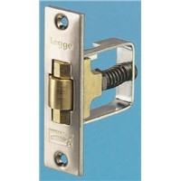 Adjustable roller bolt door latch