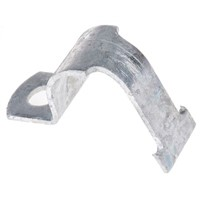 1 piece steel pipe clamp,34mm pipe dia