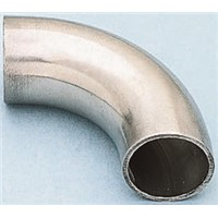 RS PRO Stainless Steel Solder Fitting 90 Elbow, 76.2mm OD