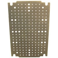 Legrand Perforated Mounting Plate for use with Atlantic Enclosure, Marina Enclosure