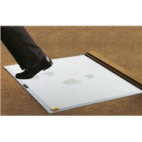 COBA Clean Step Anti-Slip, Entrance Mat, Adhesive Peel Sheet, Indoor Use, White, 600mm 800mm 6.5mm