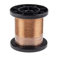 Block Single Core 0.1mm diameter Copper Wire, 1144m Long