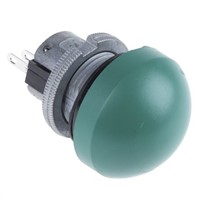 SPDT-NO/NC Momentary Push Button Switch, Panel Mount