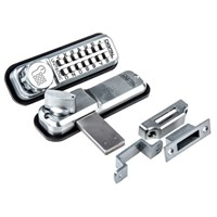 Aluminium Mechanical Brushed Code Lock