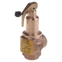 Nabic Valve Safety Products 3bar Pressure Relief Valve With Female BSP 1/2 in BSP Female Connection and a BSP 1/2