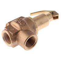 Nabic Valve Safety Products 4bar Pressure Relief Valve With Female BSP 1/2 in BSP Female Connection and a BSP 1/2