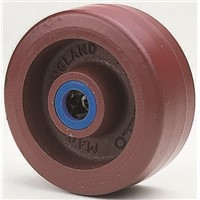 Polyurethane tyre cast iron wheel,100mm
