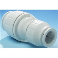 John Guest Straight Reducer PVC Pipe Fitting, 22mm