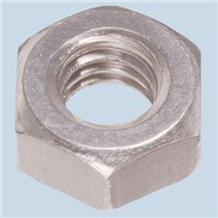 Yahata Neji Stainless Steel, Hex Nut, M2.6