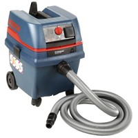 Bosch GAS 25 Floor Vacuum Cleaner Wet and Dry Vacuum Cleaner for Dust Extraction, 230V, Type C - Euro Plug