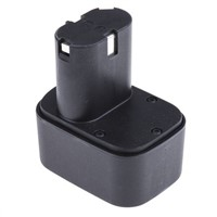 Klauke RAM2 1.3 Ah, 2.0 Ah NiMH 9.6V Power Tool Battery, For Use With Klauke Pressing Tools