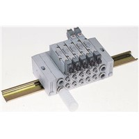 SY3000 sub-base valve end block assembly