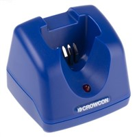 Crowcon Power Tool Charger C01940 Li-ion for use with Gasman Personal Gas Monitors, UK Plug