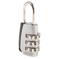 ABUS All Weather Steel, Zinc Combination Padlock 22mm