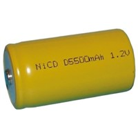Saft NiCd Rechargeable D Batteries, 5.5Ah