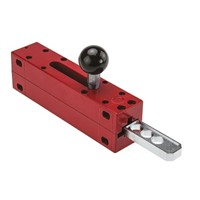 Telemecanique Sensors XCSZ05 Sliding Door Latch, For Use With XCSA Safety Switch, XCSB Safety Switch, XCSE Safety Switch