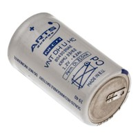 Saft NiCd Rechargeable D Batteries, 4.3Ah