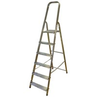 Zarges Aluminium Step Ladder 6 steps