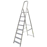 Zarges Aluminium Step Ladder 8 steps
