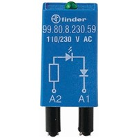 Finder, 230V ac Interface Relay Module, Plug In