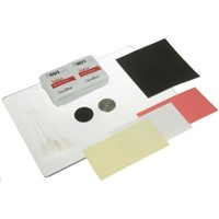 Miller Polishing Kit Containing Lexan Polishing Plate, Lint-Free Cleaning Wipe x 25, Neoprene Polishing Pad, Plastic