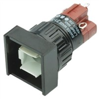 Illuminated Push Button Switch, IP40, Panel Mount, Momentary for use with Series 31 -25C +55C
