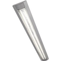 Knightsbridge 58 W Fluorescent Ceiling Light, 230 V Surface Mount, 2 Lamp, 1.61 m Long, IP20