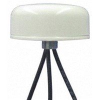 SMD-W-3C3C3C-WHT-180 Mobilemark - Dome WiFi (Dual Band) Antenna, Through Hole/Bolted Mount, (2.4 GHz) SMA Connector