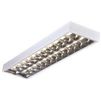Knightsbridge 36 W Fluorescent Ceiling Light, 230 V Modular Surface Mount, 2 Lamp, 1.22 m Long, IP20