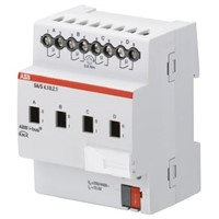 ABB Lighting Controller Switch Actuator, DIN Rail Mount, 230 V ac
