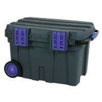 Raaco Plastic Rolling Tool box, with 2 Wheels, 472 x 775 x 493mm