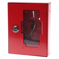 Glass Front Emergency Key Cabinet
