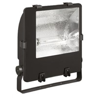 Crompton Lighting Asymmetric HID Floodlight SON-T 400 W, IP65, Die Cast Aluminium, Lamp Supplied