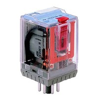 Turck 3PDT Plug In Latching Relay - 10 A, 12V dc For Use In Power Applications