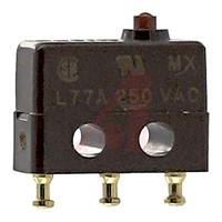 Switch SubMiniature 7A PIN PLUNGER