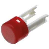 Red Round Push Button Indicator Lens for use with 18 Series