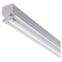 RS PRO 56 W Fluorescent Ceiling Light, 230 V Linear Twin Batten, 2 Lamp No, 1.175 m Long, IP20
